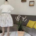 Comment faire une jupe élastiquée pour enfant