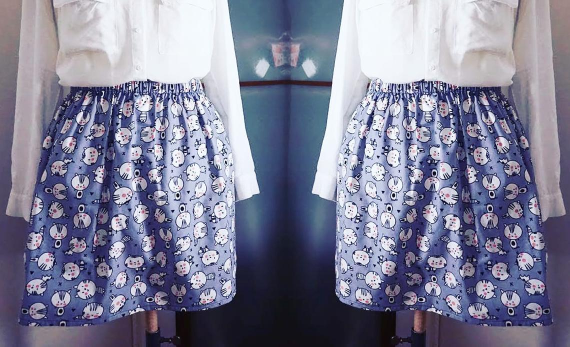 Comment faire une jupe élastiquée